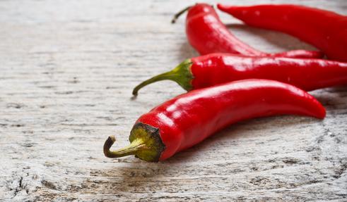 El chile es un condimento natural con poco sodio