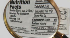 etiqueta de los alimentos